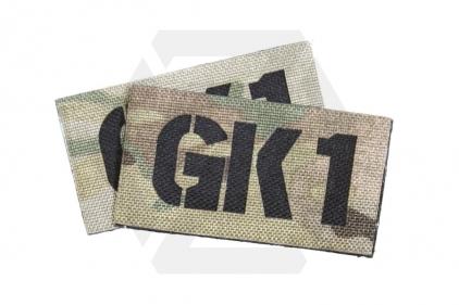 TMC Seal Team Callsign Velcro Patch Set (MultiCam) GK1