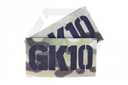 TMC Seal Team Callsign Velcro Patch Set (MultiCam) GK10