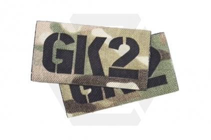 TMC Seal Team Callsign Velcro Patch Set (MultiCam) GK2