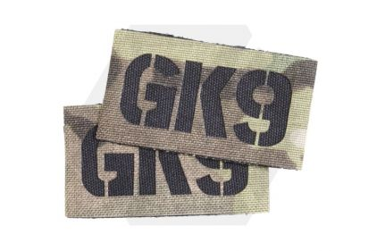 TMC Seal Team Callsign Velcro Patch Set (MultiCam) GK9