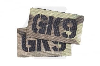 TMC Seal Team Callsign Velcro Patch Set (MultiCam) GK9