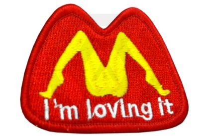 "TMC Velcro Patch ""I'm Loving It"""