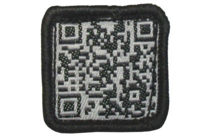 "TMC Velcro Patch ""QR Code"" (Black)"