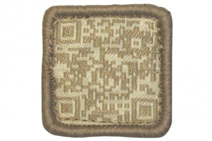"TMC Velcro Patch ""QR Code"" (Khaki) © Copyright Zero One Airsoft"
