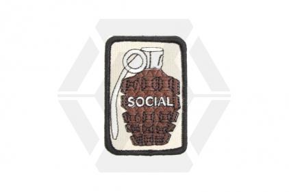 """TMC Velcro Patch """"Social"""""""