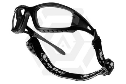 Boll� Protection Glasses Tracker   with Black Frame and Smoke Lens