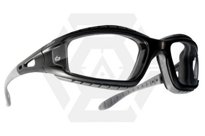 Bollé Protection Glasses Tracker with Black Frame and Clear Lens
