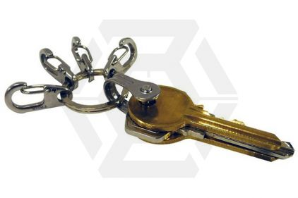 True Utility Keyring System Key Shackle & Clever Clips
