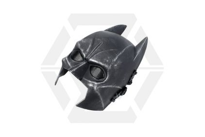 EB 'Batman' Plastic Half Face Airsoft Mask