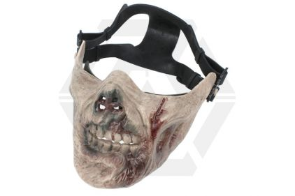 EB 'Zombie' Plastic Half Face Mask © Copyright Zero One Airsoft