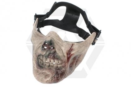 EB 'Zombie' Plastic Half Face Mask