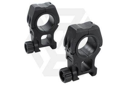 Element High Scope Rings (Black)