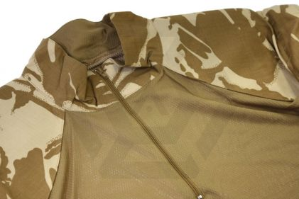 British Genuine Issue Under Body Armour Combat Shirt UBACS (Desert DPM) - Size Large