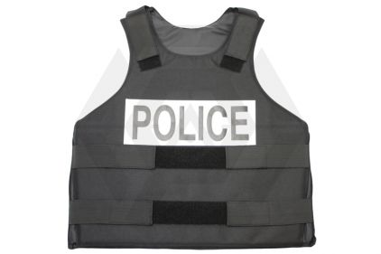 Mil-Force Replica Police Bullet Proof Vest (Black)