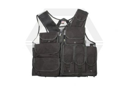 Mil-Force Special Action Tactical Vest (Black)