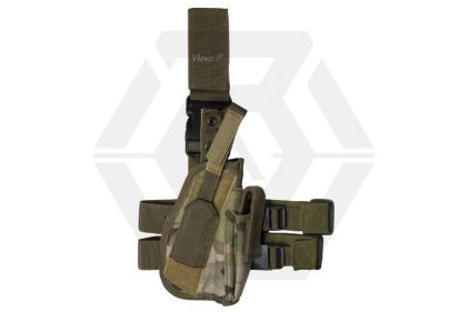 Viper Pistol Drop Leg Holster (MultiCam) © Copyright Zero One Airsoft