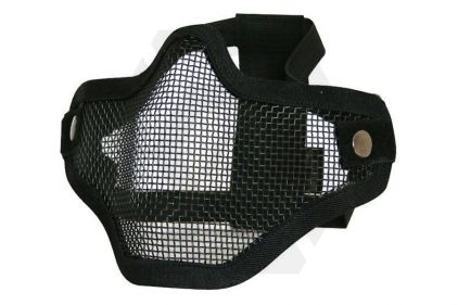 Viper Cross Steel Mesh Mask (Black) © Copyright Zero One Airsoft