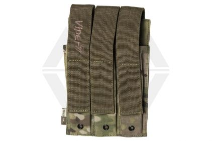 Viper MOLLE MP5 Triple Magazine Pouch (MultiCam)