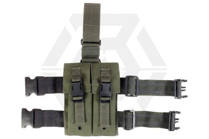 Viper M4 Double Magazine Drop Leg Holster (Olive)