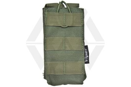 Viper MOLLE Quick Release Single Mag Pouch (Olive) © Copyright Zero One Airsoft