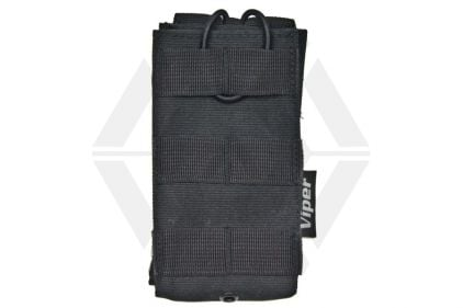 Viper MOLLE Quick Release Single Mag Pouch (Black) © Copyright Zero One Airsoft