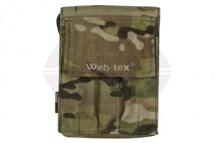 Web-Tex A6 Notebook Case (MultiCam) © Copyright Zero One Airsoft
