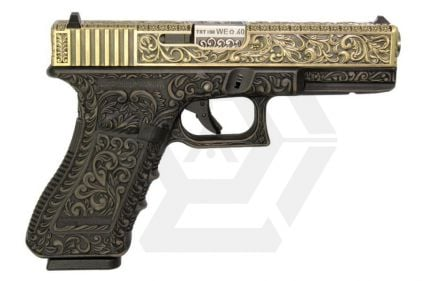 WE GBB Ornate Bronze G17