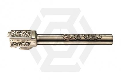 WE G34/G35 Silver Ornate Detail Inner & Outer Barrel