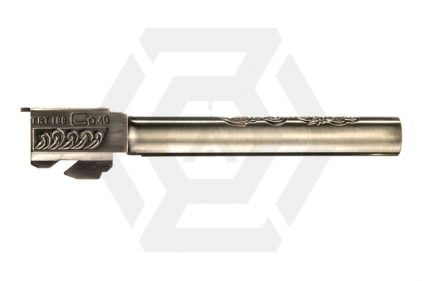 WE G34/G35 Silver Ornate Detail Inner & Outer Barrel