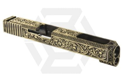 WE G34/G35 Gold Ornate Detail Top Slide
