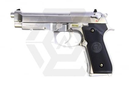 WE GBB M9A1 (Chrome) © Copyright Zero One Airsoft