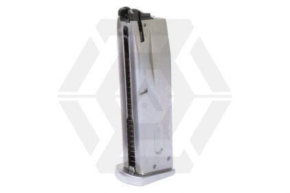 WE GBB Mag for M9A1 (Chrome)