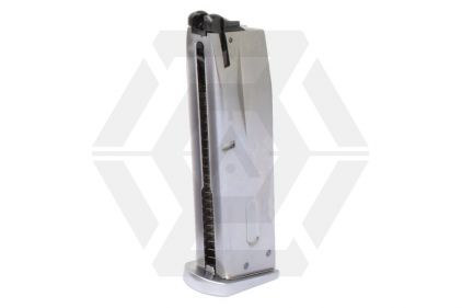 WE GBB Mag for M9A1 25rds (Chrome)
