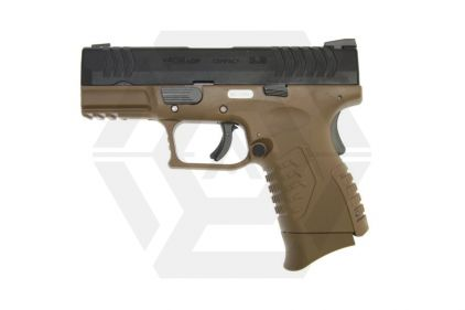 WE GBB XDM Compact 3.8 (Dark Earth) - Twin Mag Version