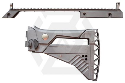 WE G39 IDZ Stock and Rail System Conversion Kit © Copyright Zero One Airsoft