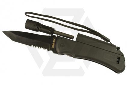 Web-Tex Steel of Fire Survival Knife