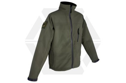 Web-Tex Tactical Soft Shell Jacket (Olive) - Size Large