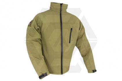 Web-Tex Tactical Soft Shell Jacket (Coyote Tan) - Size Medium
