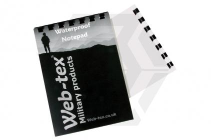 Web-Tex Waterproof A6 Notebook