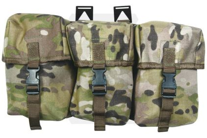 Web-Tex Triple Utility Pouch (MultiCam)
