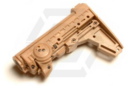 Warsmith MagPul Replica PTS M93 Stock for M4 Series (Tan)