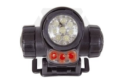 Web-Tex LED Head Torch © Copyright Zero One Airsoft