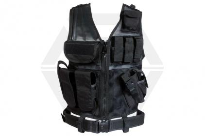 Web-Tex Cross Draw Vest (Black)