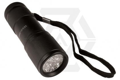 Web-Tex Warrior Aluminium LED Torch © Copyright Zero One Airsoft