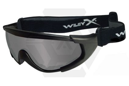 WileyX CQC Glasses with Black Frame and Smoke/Clear Lenses