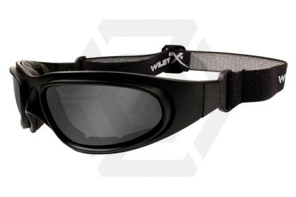 WileyX SG-1 Glasses with Black Frame and Smoke/Clear Lenses