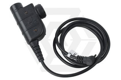Z-Tactical Clip-On PTT Adaptor for Bowman Headset fits Motorola Single Pin