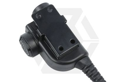 Z-Tactical Clip-On PTT Adaptor for Bowman Headset fits Kenwood Double Pin