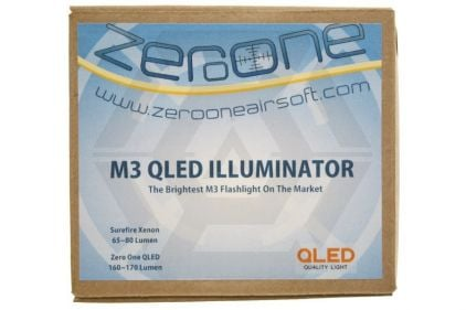Zero One QLED M3 Illuminator (Black)