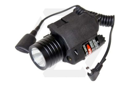 Zero One CREE LED M6 Illuminator with Integrated Laser